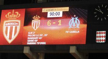 Monaco OM 6-1 Ligue 1