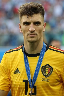 Thomas Meunier PSG Belgique