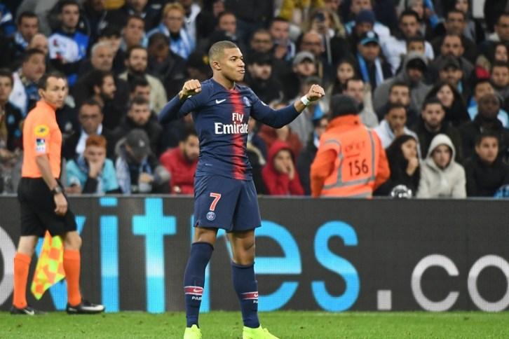OM PSG Classico Kylian Mbappé