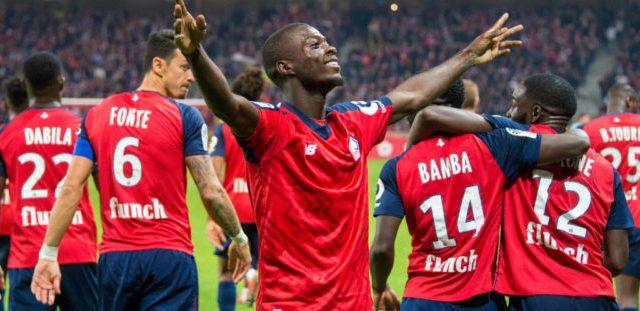 Ligue 1 28ème journée : succès très important de Lille à Saint Etienne grâce à un but de Nicolas Pépé