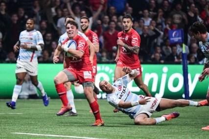 Rugby Champions Cup : le Stade Toulousain, dans le sillage de sa pépite Antoine Dupont, accède au dernier carré de la Champions' Cup en disposant du Racing
