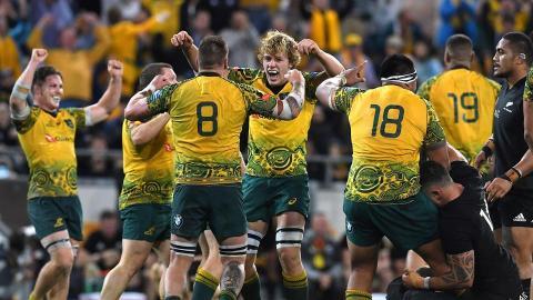 Coupe du Monde 2019 : à la surprise générale, l'Australie a nettement dominé les All Blacks cet été et s'est repositionnée dans la course à la Coupe Webb Ellis