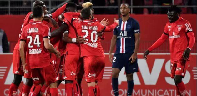 Ligue 1 12ème journée : le PSG est tombé à la surprise générale chez la lanterne rouge Dijon