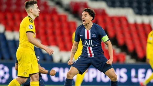PSG-Dortmund : Marquinhos, le capitaine parisien, a été l'auteur d'un très grand match et s'est affirmé comme le leader du club de la Capitale