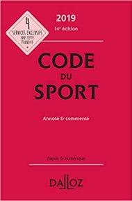 LFP : le Code du Sport d'où est issu l'article L131-14