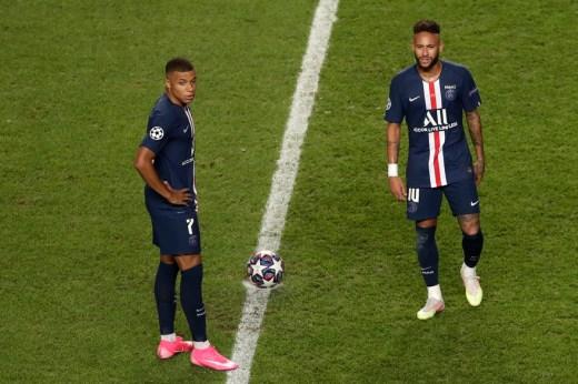 Mbappé et Neymar de plus en plus isolés sur le front de l'attaque parisienne