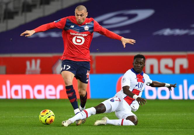 Le buteur turc Burak Yilmaz ne voudra pas rater l'occasion de devenir champion de France avec le LOSC