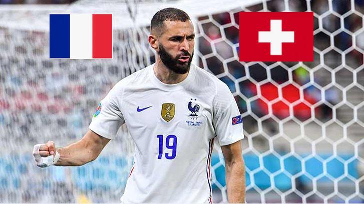 L'Equipe de France affrontera la Suisse en 1/8ème de finale