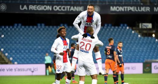 Kylian Mbappé a été sacré meilleur buteur de la Ligue 1 pour la 3ème saison consécutive.