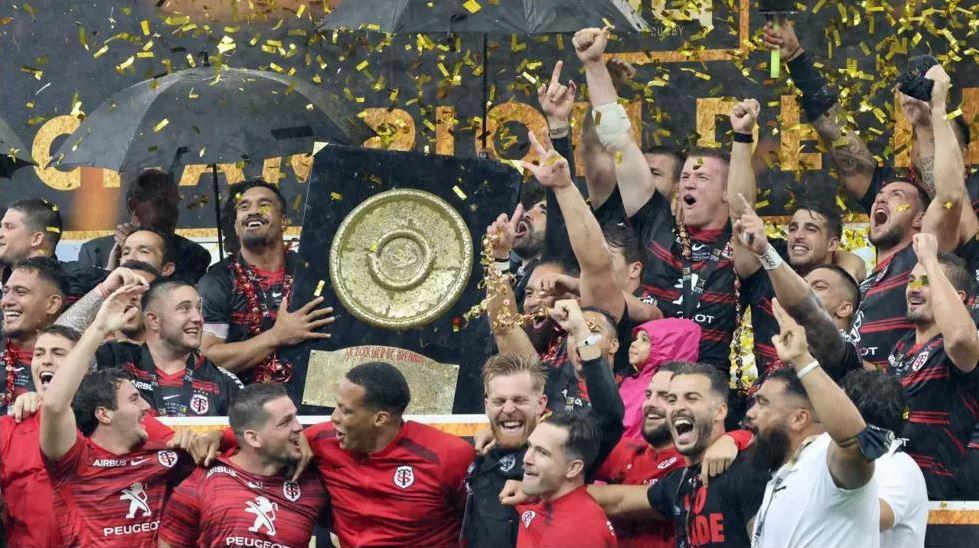 Le Stade Toulousain s'est offert le 21ème titre de Champion de France de son histoire