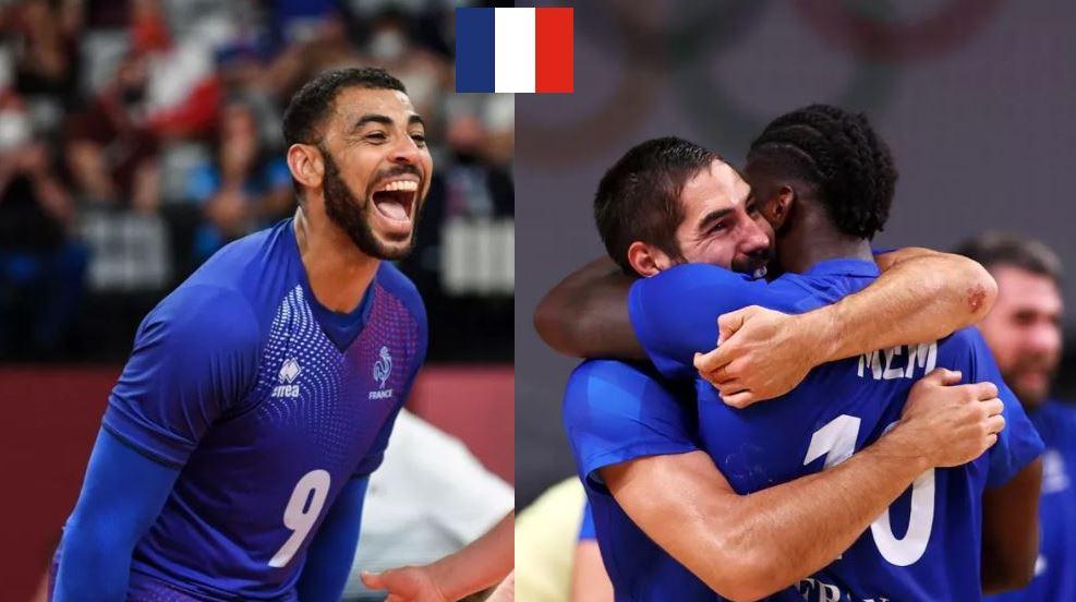 Samedi historique pour le sport français avec le titre olympique des handballeurs et des volleyeurs qui ont dominé le Danemark et la Russie en finale