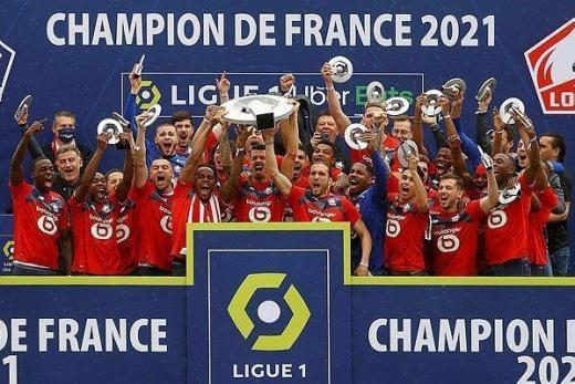 Le champion Lillois conservera t'il son trône à l'issue de la saison 2021-2022 ?