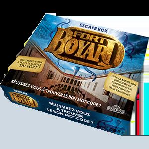 ESCAPE BOX FORT BOYARD 2