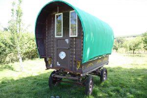 gypsy caravan - front