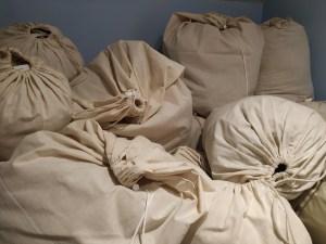 fleeces in bags
