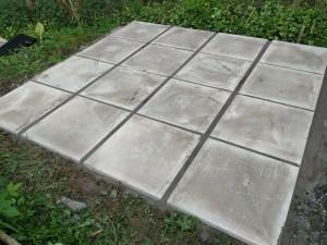 shed base slabs