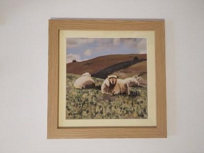framed print - sheep - Yogi & friends
