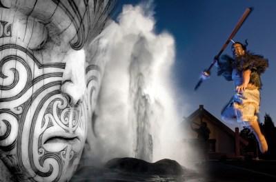 Maori Culture at Te Puia, Rotorua Geothermal Park & Waitomo Glow Worms Tour
