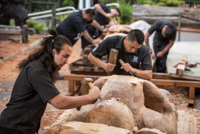 National Carving School at Te Puia