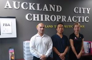 Auckland City Chiro team