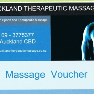 Massage Voucher 001