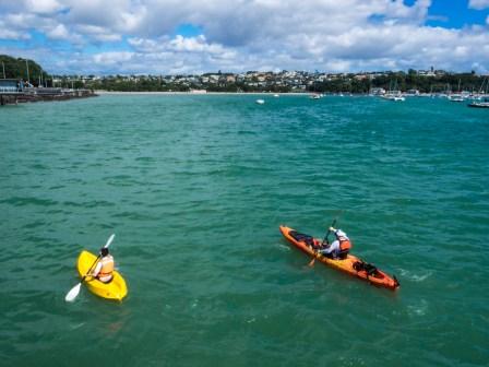 Okahu Bay Kayaks - Street Photography Auckland