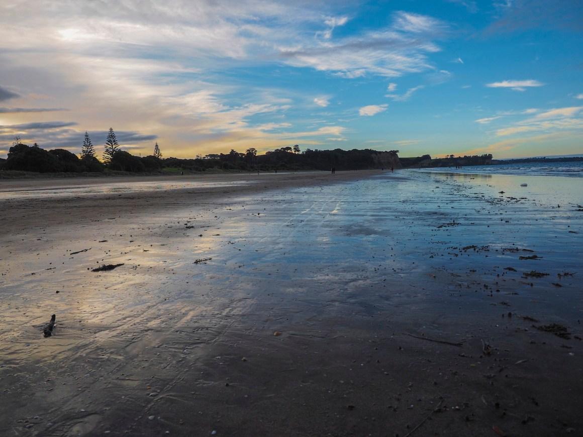 Longbay Beach Sunset