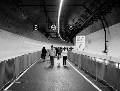 Waterview Tunnel Walk Street Photography Auckland