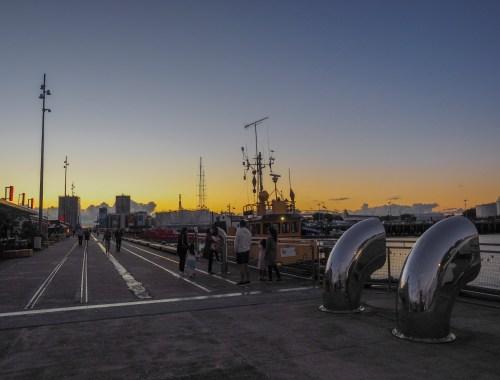 Wynyard Quarter Sunset Street Photography Auckland
