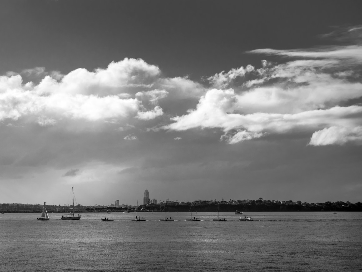 Boats, Couds & Rain - Street Photography Auckland