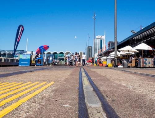 Wynyard Quarter Rails - Street Photography Auckland