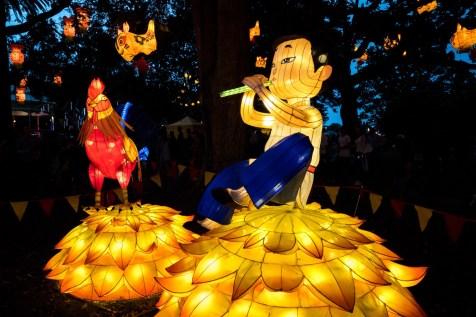 Auckland Lantern Festival Piper