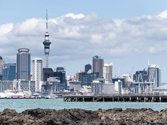 Auckland Sky Tower - Street Photography