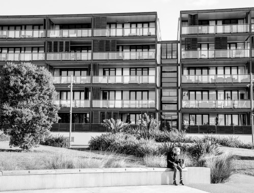 Viaduct Harbour Apartments - Street Photography Auckland