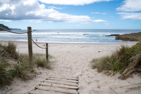Medlands Beach Access on Aotea Great Barrier Island