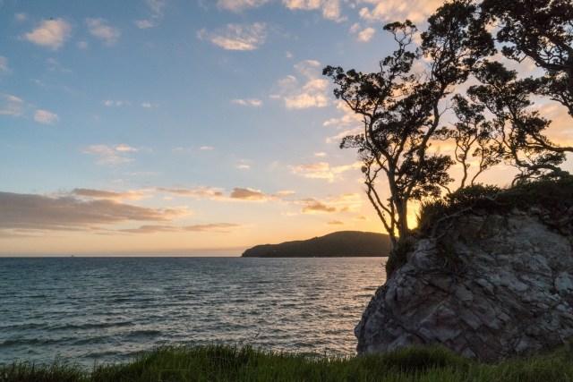 Tryphena Coast Sunset on Great Barrier Island, Aotea