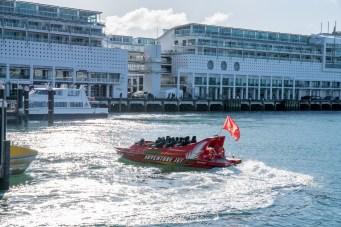 Auckland Harbour Queens Wharf Adventure Jet