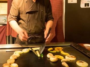 Food Preparation Heizo Teppanyaki Restaurant, Newmarket, Auckland