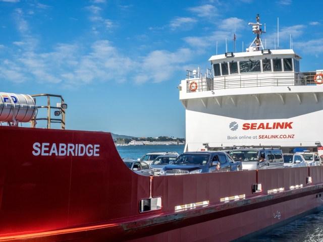 Seabridge Sealink Waiheke Island Car Ferry