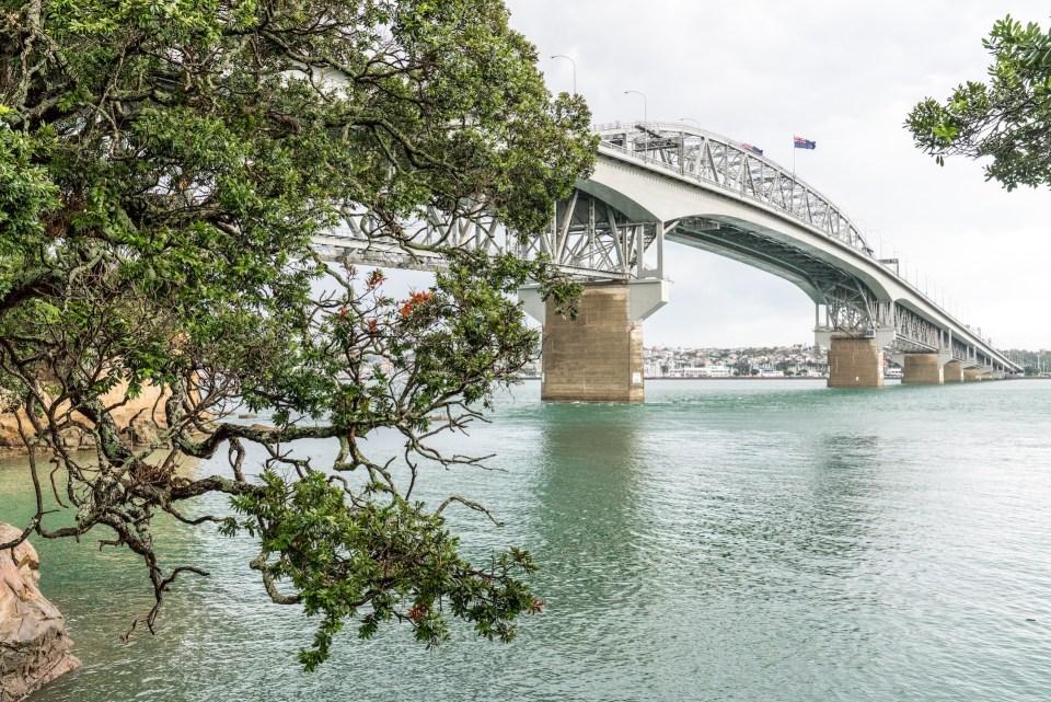 Stokes Point Auckland Harbour Bridge - Street Photography Auckland