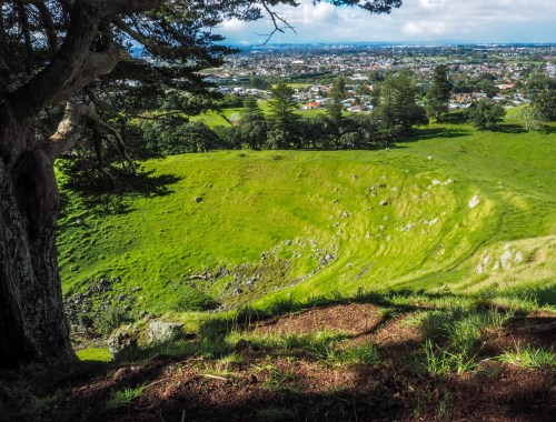 Mangere Mountain Crater View - South Auckland