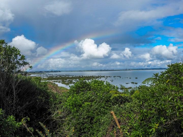 Puhinui Reserve Rainbow - Landscape Photography Auckland