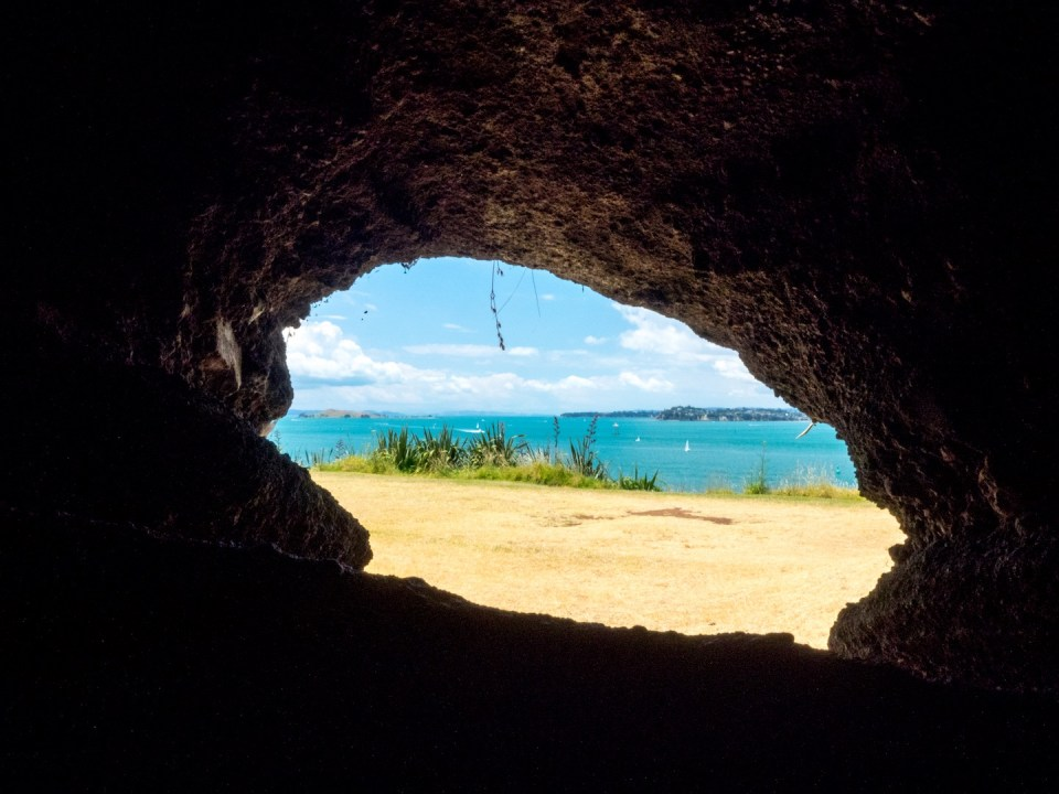 View from within North Head Tunnels