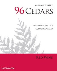 Auclair Winery 96 Cedars Red