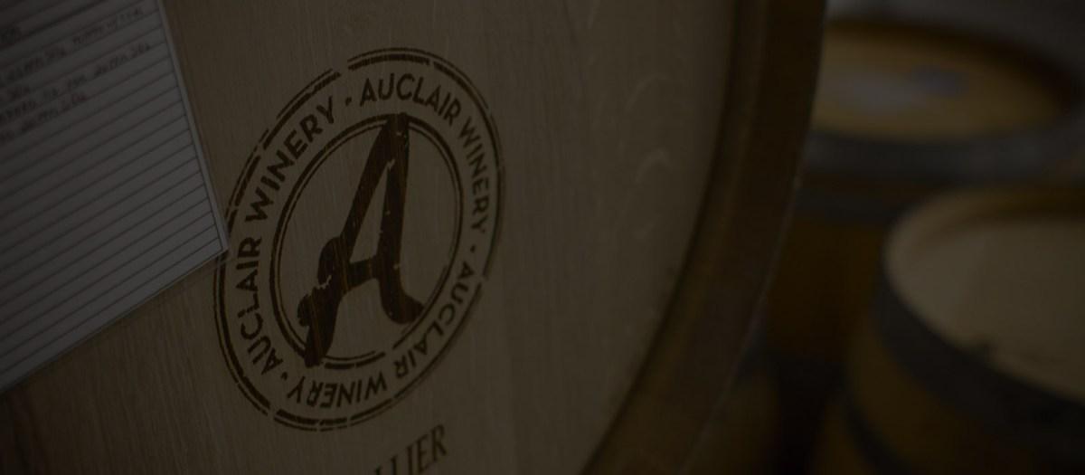 Auclair Winery Barrel
