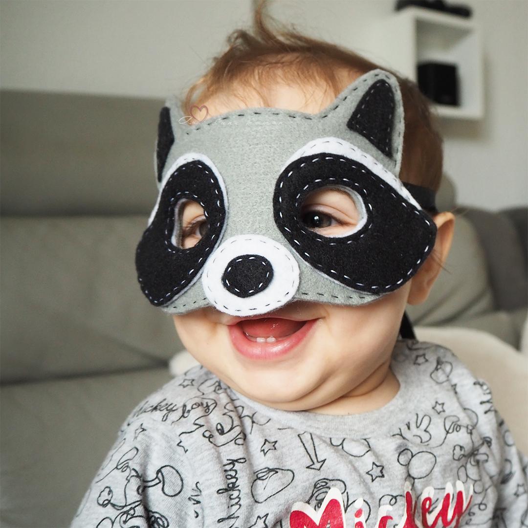 masque raton laveur carnaval