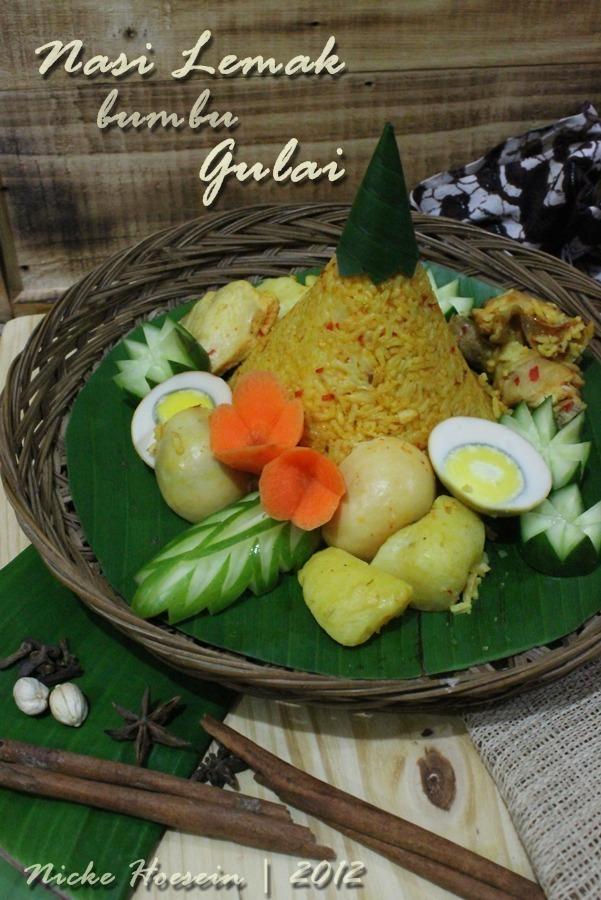 Resep Nasi Tumpeng : resep, tumpeng, Lemak, Bumbu, Gulai, Tumpeng, Sunda, Cuisine