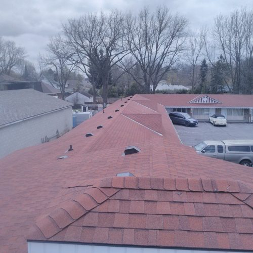 business with new roof