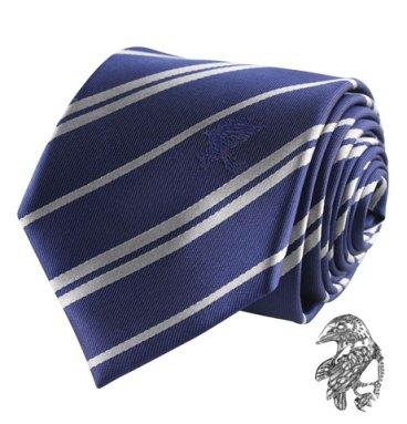 Cravate Deluxe serdaigle avec pin's