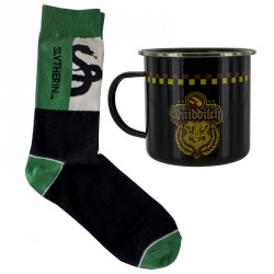 Mug Métal et Chaussettes Serpentard